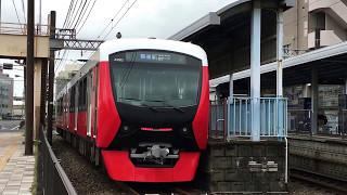 静岡鉄道A3000形第2編成 柚木駅にて