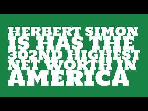 Where did Herbert Simon get the money?