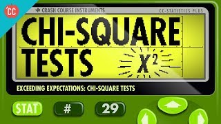 Chi-Square Tests: Crash Course Statistics #29