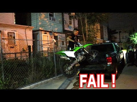 LOADING DIRTBIKE FAIL !