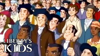 Liberty's Kids 140 - 4th of July Special! WE THE PEOPLE with Washington - Educational Cartoons
