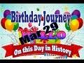 Birthday Journey March 29 New