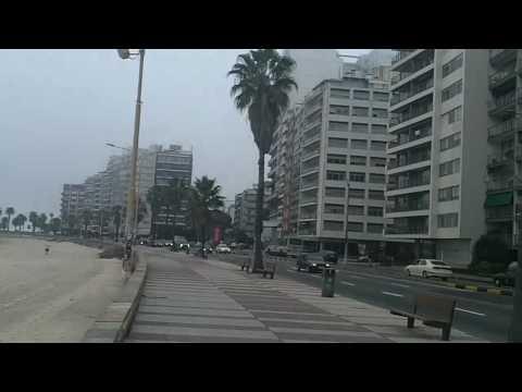 Pocitos Beach - Montevideo, Uruguay