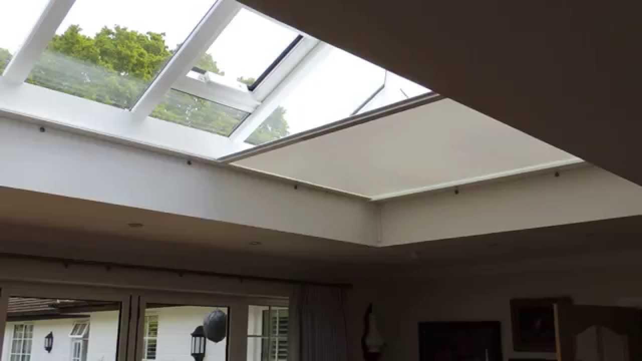 Roof Lantern Zip Blind Premier Blinds Amp Awnings 01372