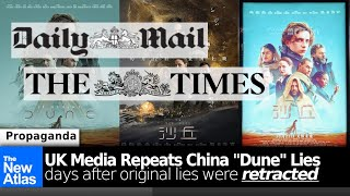 """Daily Mail, The Times  Both Repeat China """"Dune"""" Poster Lies DAYS After Others Retracted False Claims"""