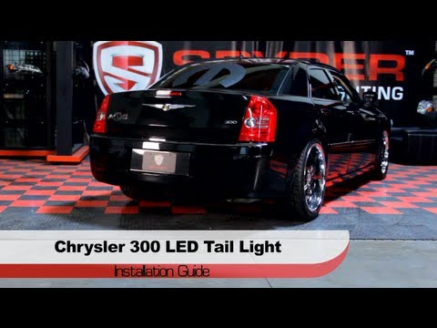 Spyder Auto Installation: 2005-07 Chrysler 300 & 300C LED Tail ...