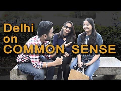 Delhi Girls/boys On Common Sense -- Ghanta Hai Public Talk -- Trolling -- #Ghanta Hai - 동영상