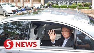 Penang CM leaves MACC HQ after over four hours of questioning