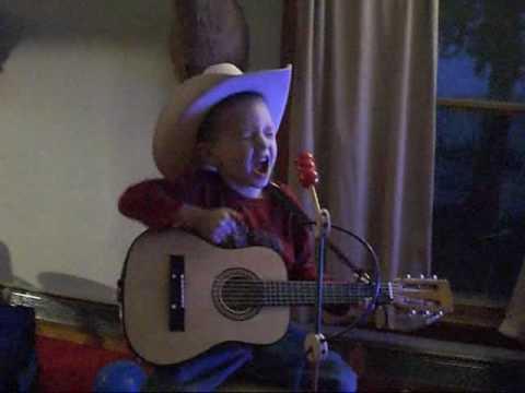 Jadon's sing debut