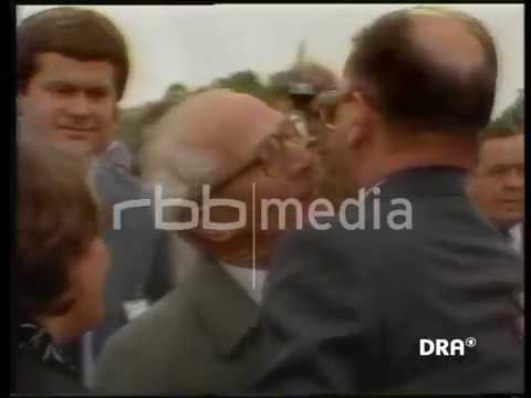 Dismissing of Socialist State Leaders by Erich Honecker 1987