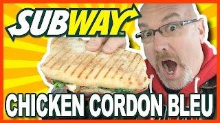 Subway Chef-Inspired Chicken Cordon Bleu Panini Review