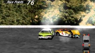 DOS Game: Destruction Derby
