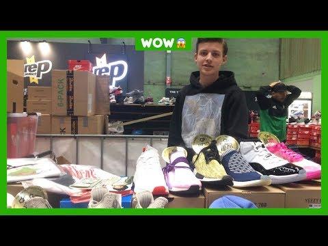 Qinn verkoopt sneakers en shirts van meer dan 1000 euro