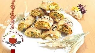 Pırasalı Börek Tarifi | Pırasalı Havuçlu Börek | Hazır Yufkadan Pırasalı Börek Tarifi