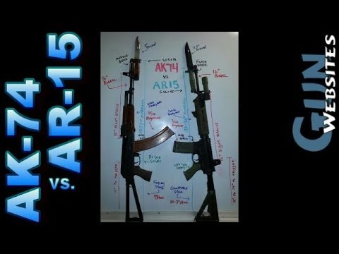AK74 vs AR15 Compare
