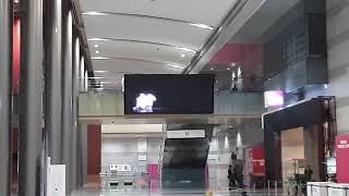 코엑스( COEX ) 전광판 1층 B1 설치된 전광판