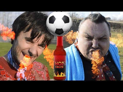 Omčo VS Meca - HOT KETCHUP PENALTY CHALLENGE