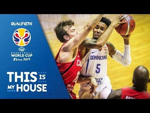 Dominican Rep. v Canada - Full Game - FIBA Basketball World Cup 2019 - Americas Qualifiers