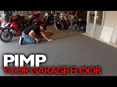 Customize Your Garage Floor for around $100