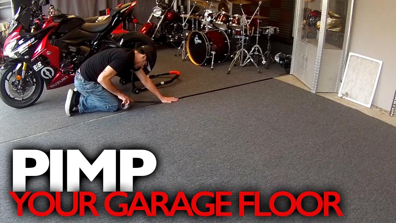 Customize Your Garage Floor For Around 100 Youtube
