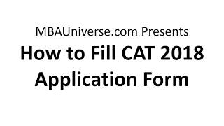 Step by Step CAT 2018 Registration and Application Guide