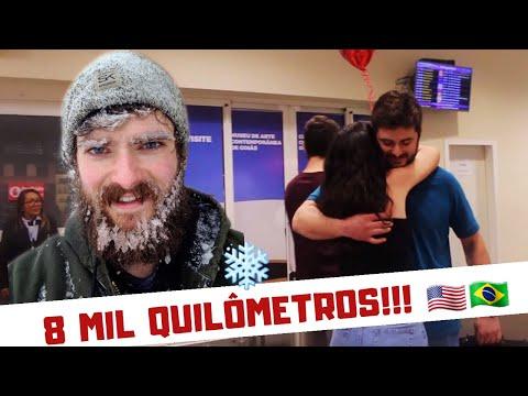 Namoro a distância / Primeiro encontro / Brasileira e Americano