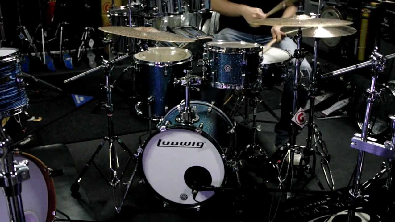 how to make a drum set out of household items