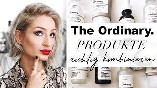 THE ORDINARY Produkte richtig kombinieren - meine Hautpflegeroutine