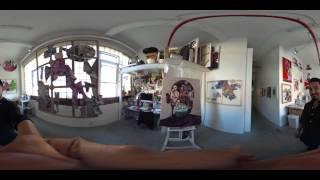 360 Art - Bushwick Open Studios - 2015 Part1
