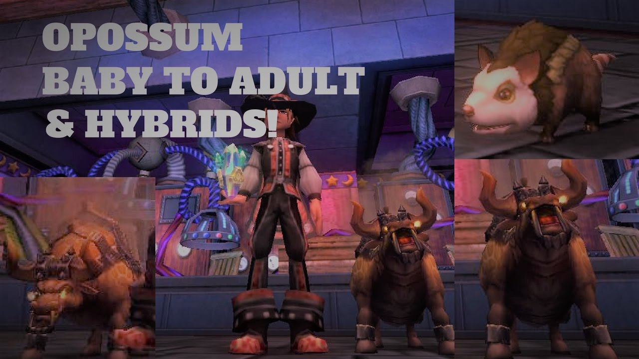 Ghulture Wizard101 Death Pets