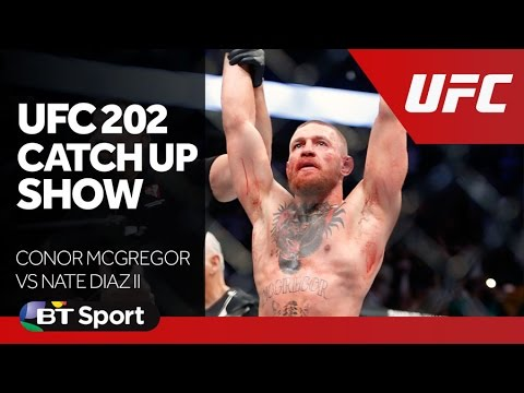 UFC 202 Catch Up Show   Conor McGregor vs Nate Diaz II New Flash Game