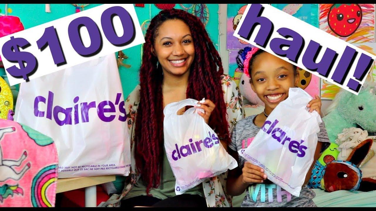 59242352b Claires Haul 2018! 100 Dollar Claires Haul! Squishies, Pusheen, Unicorns, Hello  Kitty