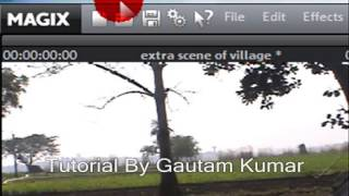 How to Type Text or Title on Video In Magix Movie Edit Pro 15 (Hindi)