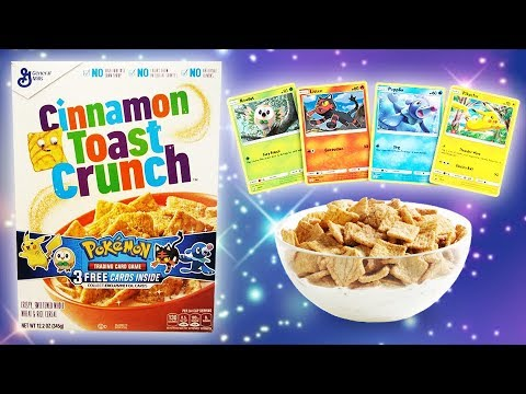 *CLOSED* COMPLETE SET GIVEAWAY! Opening 27 Sun & Moon Cereal Booster Packs!