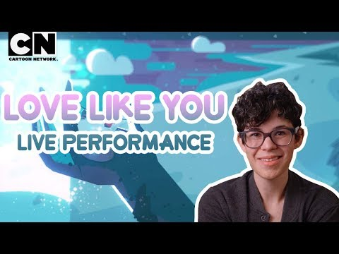 "Steven Universe | Rebecca Performs ""Love Like You"" Ft. Aivi & Surasshu 