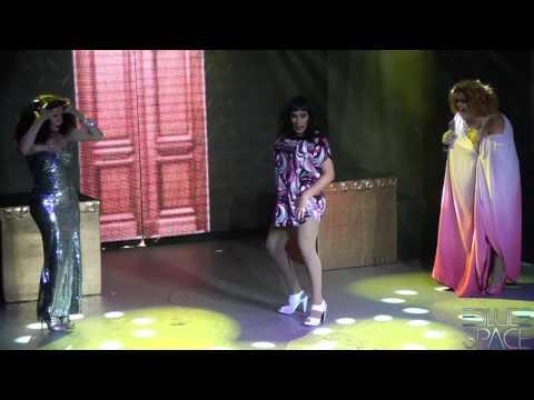Blue Space Oficial - Thália Bombinha, Michelly Summer, Valenttini Drag e Natasha Rasha - 03/01/2015