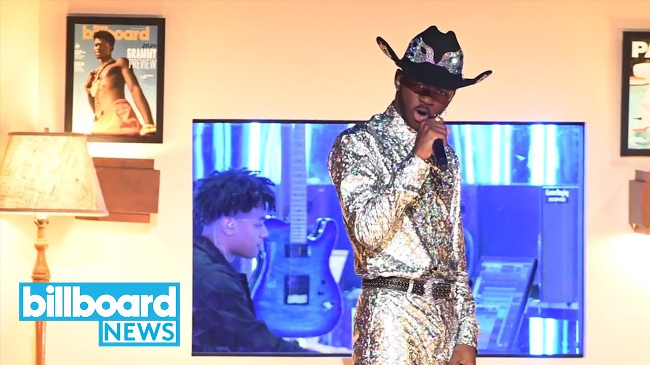 BTS Joins Lil Nas X for Epic Performance of 'Old Town Road' at 2020 Grammys | Billboard News