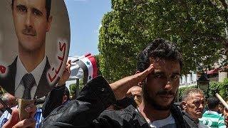 Beşar Esad, rejimin kontrolündeki bölgelerde yapılan seçimi kazandı