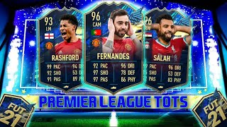 PREMIER LEAGUE TOTS! I PACKED 5 TOTS!!! - PREMIER LEAGUE TOTS PACK OPENING - #FIFA21 Ultimate Team