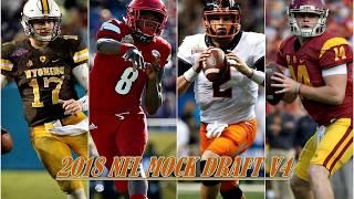 2018 NFL MOCK DRAFT V4 Free HD Video