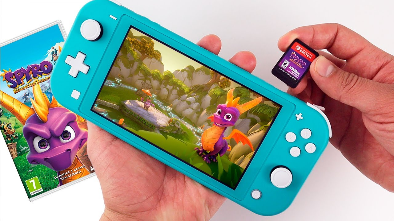 Spyro Reignited Trilogy Nintendo Switch Lite Gameplay Youtube