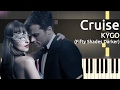 Kygo - Cruise ft. Andrew Jackson - Piano Tutorial - Fifty Shades Darker Soundtrack