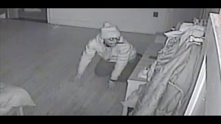 Nanny Cam Video Catches Thief Crawling in Family's Bedroom While They Sleep