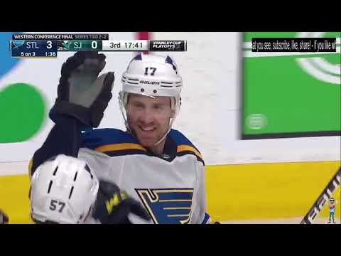St. Louis Blues vs San Jose Sharks – NHL Playoff 2019 – West Final – Game 5