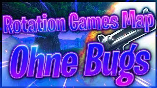 ROTATION GAMES MAP OHNE BUGS! (+Code) | Fortnite Battle Royale | LetsHugo