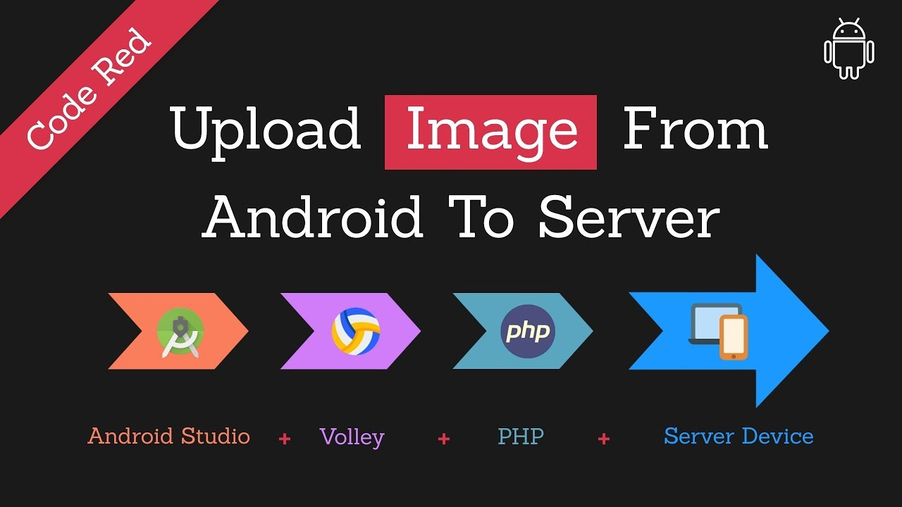 Upload Image To Server Using Volley In Android