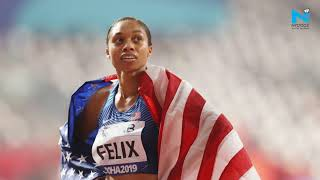 World Athletics C'ship: Felix breaks Usain Bolt's record, Pryce wins fourth 100 metres world title