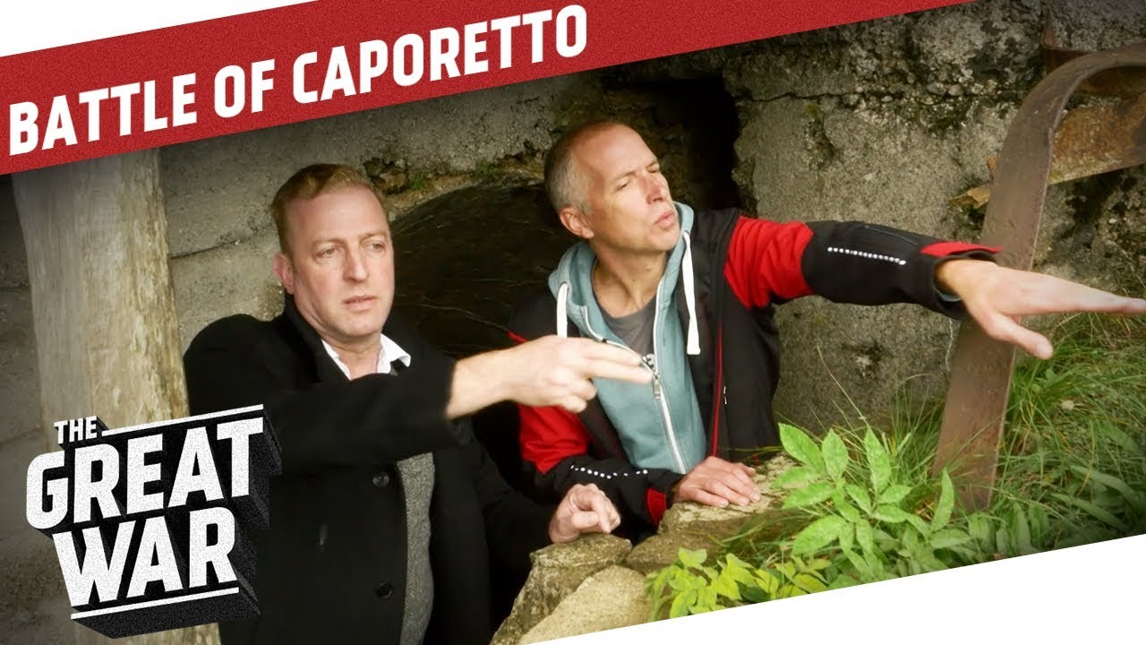On the Battlefield of Caporetto - Exploring the Kolovrat I THE GREAT WAR  Special a18aff2cfd42