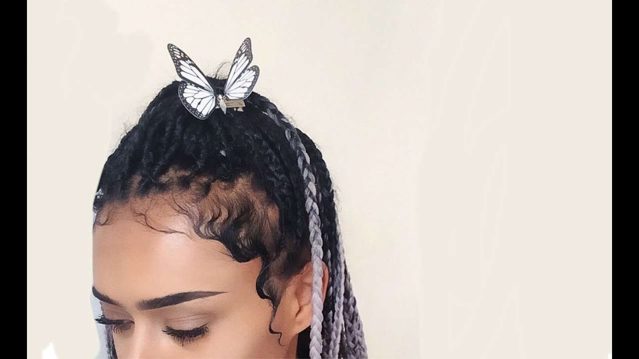 Kiss Curls Baby Hair Hairstyle Fka Twigs Inspired Youtube