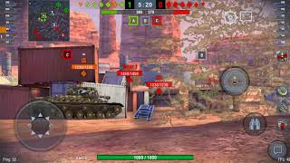 World Of Tanks Blitz game play with St Emeil